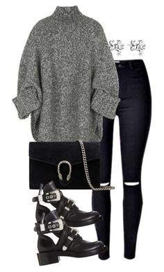 """Untitled #2950"" by theeuropeancloset on Polyvore featuring Michael Kors, Gucci and Balenciaga"
