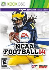 NCAA Football 14 (Microsoft Xbox 360, 2013)