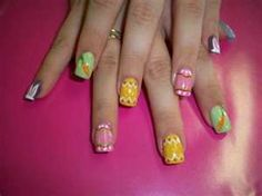 easter nail art @Carla King-Hogan