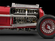AUTO ITALY MILANO ALFA ROMEO - TIPO B P3 - FULL DRIVE - L8 - 2,9L - 255HP - 701KG - RED METAL - 1934