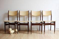 Retro Design, Chair Design, Vintage Furniture, Sheep, Dining Chairs, Beige, Flat, Home Decor, Bass