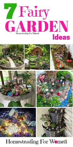 7 Fairy Garden Ideas |Garden Ideas | Fairy Garden |