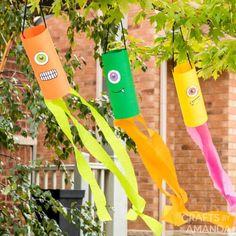 Monster Wind Socks