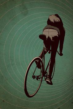 Fixi - Illustrator Adams Carvalho - a. t - Fahrrad