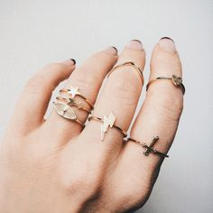 All GOLD everythang!!! #BingBangxUO 14k plated superior quality delicate gold stacking jewels. xxBB