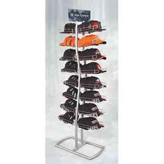 cap rack baseball cap tower home decor pinterest. Black Bedroom Furniture Sets. Home Design Ideas