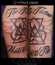 Coheed & cambria Tattoo