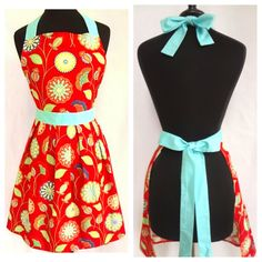 Gypsy  Rose Apron by SimplyWhimsicalGifts on Etsy, $32.00
