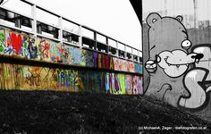 Stadtmalerei - Morbides Wien in Bunt Graffiti, Vienna, Bunt, Street Art, Fictional Characters, Photos, Canvas, Graphite, Graffiti Illustrations