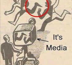 """This is How the Media Works - Funny memes that """"GET IT"""" and want you to too. Get the latest funniest memes and keep up what is going on in the meme-o-sphere. Deep Meaning, Word Meaning, Faith In Humanity, So True, Mind Blown, True Stories, Illustration, Fun Facts, Funny Pictures"""
