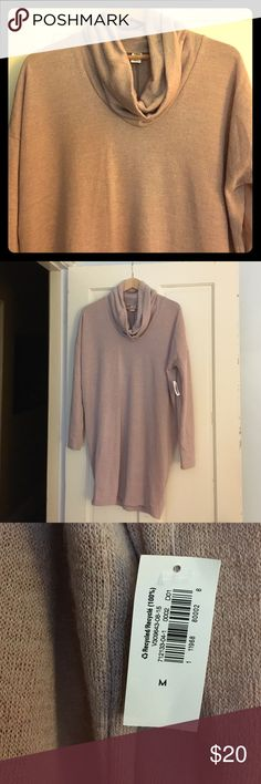 "NWT cocoon sweater dress Old Navy. Brand new. Cowl next dolman sleeves. Ordered online and a little to short for my ""mature"" legs. 😜. Love the color. I think they call it Icelandic pink or something. Old Navy Dresses Long Sleeve"