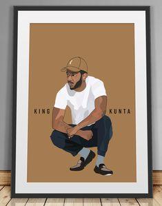 989190d2 Kendrick Lamar poster   TDE poster     Poster Art  minimal art  music  poster  hiphop art   rap poster  kendrick merch   To pimp a butterfly