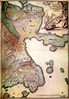 Tpteutumaton linnoitussuunnitelma, 1767