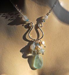 Custom Made Charmed Sea Glass