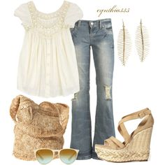 Summer Wheat, created by cynthia335 on Polyvore
