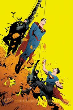 BATMAN/SUPERMAN #2 Written by GREG PAK, Art and cover by JAE LEE - Batman and Superman travel to Earth 2, where they find familiar heroes who are trying to kill them!