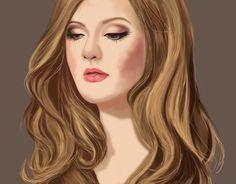 "Check out new work on my @Behance portfolio: ""Adele digi"" http://be.net/gallery/44192201/Adele-digi"
