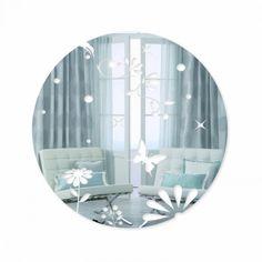 Okrúhle zrkadlá na stenu so vzorom motýľov Plates, Tableware, Home, Licence Plates, Dishes, Dinnerware, Griddles, Tablewares, Ad Home