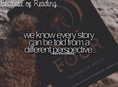 Because of Reading.we know every story can be told from a different perspective. I Love Books, Good Books, Books To Read, My Books, Reading Quotes, Book Quotes, True Quotes, Qoutes, Fandoms Unite