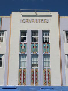 miami art deco district by bollilaurent Bauhaus, Art Nouveau, Miami Architecture, Miami Art Deco, Streamline Moderne, Pop Art, Art Deco Buildings, Art Deco Home, Retro Futurism
