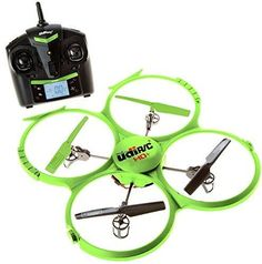 UDI 818A HD  Upgrade - RC Quadcopter Drone with Camera 720p HD - Headless Mode and Return Home Function - Do 360 Flips - BONUS BATTERY Doubles Flying Time - (USA Toyz Exclusive)