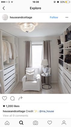 14 Walk In Closet Designs For Luxury Homes - Kleiderschrank ideen, 14 Walk In Closet Designs For Luxury Homes The best of luxury closet design in a selection curated by Boca do Lobo to inspire interior designers looki. Armoire Dressing, Dressing Room Closet, Dressing Room Design, Dressing Rooms, Walk In Closet Design, Closet Designs, Wardrobe Design, Wardrobe Room, Master Bedroom Closet