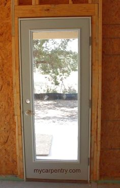 framing a door learn the basics of door framing and pre hung door installation