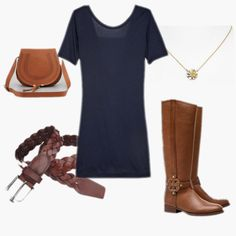 Simple and chic country girl style! Styled by Erin on  WiShi.me (where friends style friends for upcoming events) Follow our styling boards for all the inspiration you need for any event!