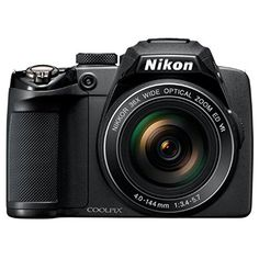 Nikon COOLPIX P500 12.1 CMOS Digital Camera with 36x NIKKOR Wide-Angle Optical Zoom Lens and Full HD 1080p Video (Black)(Certified Refurbished)