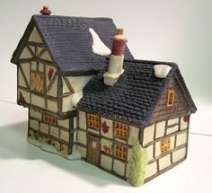 Department Dept 56 Dickens Village TUDOR COTTAGE 1985