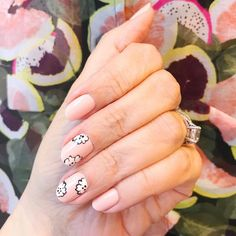 Summertime mani Color Match: Ballerina by Private Weekend and Licorice by Nail Polish Art, Nail Art, Olive And June, Nail Inspo, Ballerina, Summertime, Nails, Instagram Posts, Amp