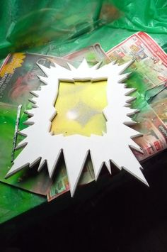 Work In progress, one of our newest Funky Mirror Designs. Enjoy Jack Frost's Mirror.!
