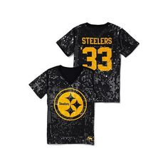 Victoria'S Secret Pittsburgh Steelers Sequin Football Tee, found on polyvore.com      Must have for next season!!!