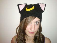 Knitting Bitch: Luna Hat (Sailor Moon)