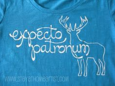 Make your own awesome t-shirt with a freezer paper stencil