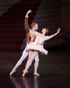 2012 Sugar Plum Fairy & Cavalier #LincolnMidwestBalletCompany #AdrianFry #AllisonDebona #BalletWest #PurpleSkyProductions