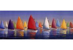 Flying Colors, racing sailboats
