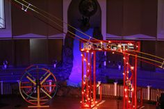 VBS 2013 Colossal Coaster World stage