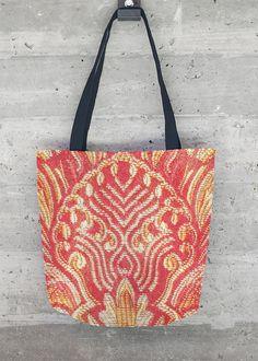 VIDA Tote Bag - Hibiscus by VIDA j2WK336i