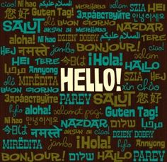 National Hello Day!