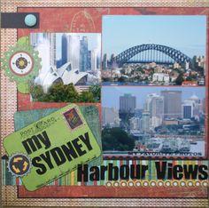 My Sydney Harbour Views Page 1 - Scrapbook.com