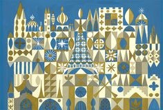 small world by Mary Blair