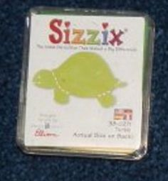 Sizzix Small Green Die Cuts