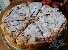 Recept Jablečný skvost ze 4 surovin, který rozvoní dům za půl hodinu Apple Dessert Recipes, Cookie Desserts, Sweet Desserts, Fruit Recipes, Desert Recipes, Apple Recipes, Sweet Recipes, Cakes And More, Sweet Tooth