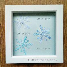 Let it snow Let It Snow, Let It Be, Frame, Picture Frame, A Frame, Frames, Picture Frames