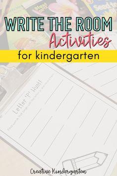 What Activities, Alphabet Activities, Kindergarten Centers, Kindergarten Classroom, Parts Of A Plant, Letter D, Literacy, Student, Writing
