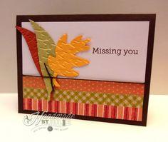Missing You scraps card   HandmadebyJulie.com