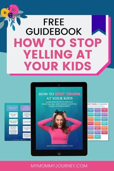 Do you yell at your kids? Do you feel guilty afterwards? Here is a free guidebook with 26 proven ways to help you stop yelling at your kids and create a loving family environment. Comes with free printable sheet. Download now! #stopyellingatyourkids #stopyelling #stopyellingmom #stopyellingatyourkidsparenting #stopyellingatme #waystostopyellingatyourkids #stopyellingatyourkidsparentingtips #stopyellingatyourkidsbook