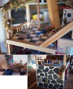La maison de poupées de Léa