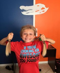 This Inspiring Boy Ignored Bullies, Kept Growing Hair for Cancer Patients